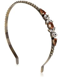 Babe - Pompadour Collection Headband - Lyst