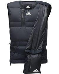 adidas Originals Жилет Cold.rdy Из Нейлона На Пуху - Черный