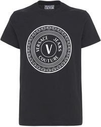 Versace Jeans Couture コットンtシャツ - ブラック
