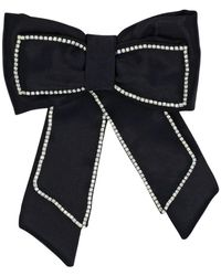 ANOUKI サテン風リボン - ブラック