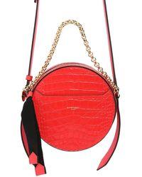 Givenchy Кожаная Сумка Eden Croc - Красный