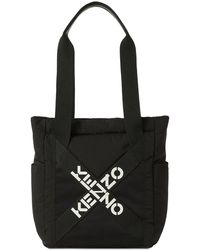 KENZO Sport ナイロントートバッグ - ブラック