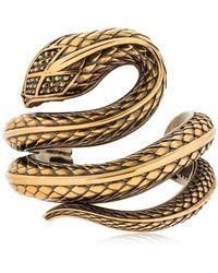 Roberto Cavalli - Snake Bracelet - Lyst