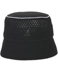 Kangol Mesh Bin Bucket Hat - Black