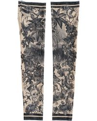 DSquared² - Tattoo Printed Tulle Sleeves - Lyst
