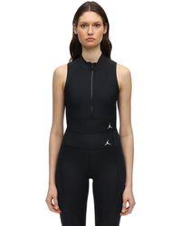 Nike Jordan Stretch Crop Top - Black