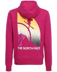 The North Face Snow Maven コットンスウェットフーディー - ピンク