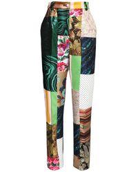 Dolce & Gabbana Patchwork ブロケードジャカードパンツ - マルチカラー