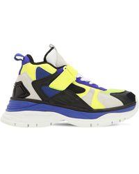 Juun.J Chunky-sneakers Aus Leder - Schwarz