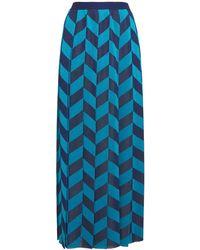 Gucci ルレックスニットスカート - ブルー