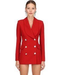 Alessandra Rich Платье-пиджак Lvr Edition - Красный