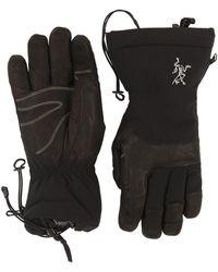 Arc'teryx Fission Sv Nylon Gloves - Black