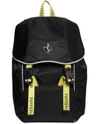 Ferrari Logo Nylon Backpack - Черный