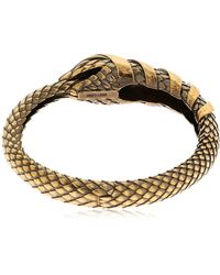 "Roberto Cavalli - Bracelet ""snake"" - Lyst"