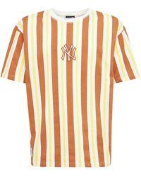"KTZ T-shirt Mit Streifenmuster ""ny Yankees"" - Mehrfarbig"