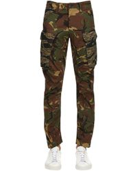 G-Star RAW - Rovick Rc 3d Tapered Cotton Cargo Trousers - Lyst