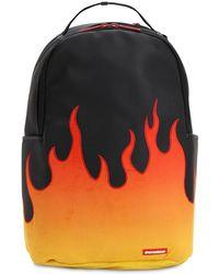 Sprayground Cream Printed Backpack - Black