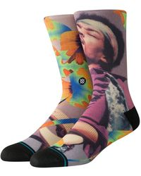 Stance Jimi Flowers Socks - Mehrfarbig