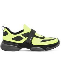 "Prada - Sneakers Aus Mesh ""cloudbust"" - Lyst"