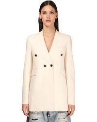 Givenchy コットンブレンドジャケット - ホワイト