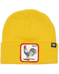 Goorin Bros Winter Bird Acrylic Knit Beanie - Yellow