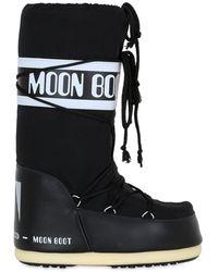 """Moon Boot Сапоги """"classic"""" Из Непромокаемого Нейлона - Синий"""