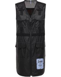 McQ Robe Utilitaire En Nylon - Noir