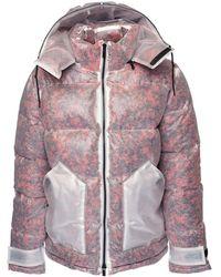 McQ Куртка С Наполнителем Foam Cashmere - Розовый