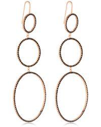 Isabel Marant - Crystal Circles Drop Earrings - Lyst