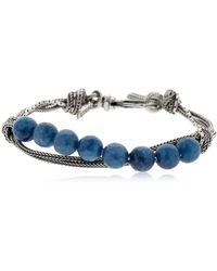Emanuele Bicocchi - Quartz & Silver Chain Bracelet - Lyst