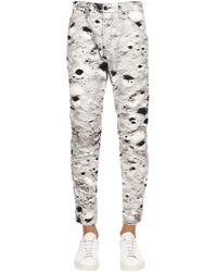 G-Star RAW - Elwood Moon Print Tapered Denim Jeans - Lyst