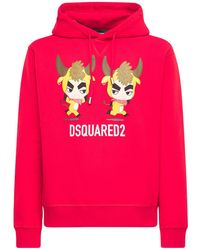 """DSquared² - Hoodie Aus Baumwolljersey """"year Of The Ox"""" - Lyst"""