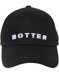 BOTTER キャンバスキャップ - ブラック