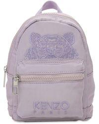 KENZO - Mini Rucksack Mit Tigerstickerei - Lyst