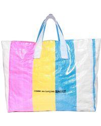 Comme des Garçons - Borsa Shopping Xl In Plastica - Lyst