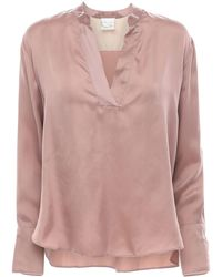 Forte Forte Рубашка Из Купро - Розовый