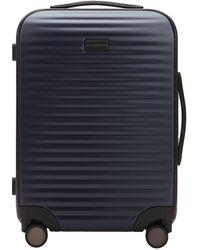 Ermenegildo Zegna Polycarbonate Wheeled Suitcase - Blue
