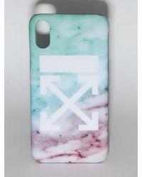 Off-White c/o Virgil Abloh - Lvr Exclusive Pvc Iphone X/xs Case - Lyst