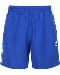 adidas Originals 3-stripes Swim Shorts - Blue