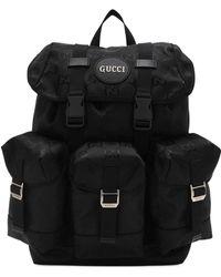 """Gucci Rucksack Aus Gg-econyl """"off The Grid"""" - Schwarz"""
