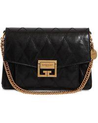 Givenchy - Small Gv3 Leather Matelassè Shoulder Bag - Lyst