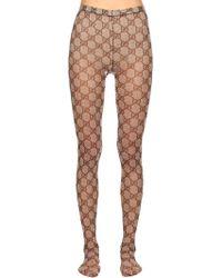 Gucci - Gg Supreme Stockings - Lyst