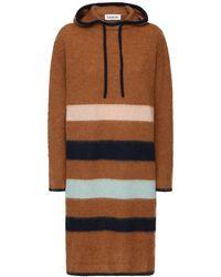 Lanvin Kleid Aus Alpakamischung - Mehrfarbig