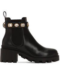 Gucci Ботинки Со Съемным Ремешком - Черный