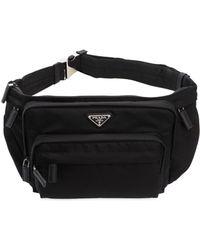 Prada Nylon Belt Pack - Black