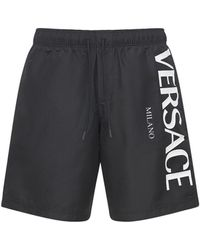 Versace - ロゴプリント水着 - Lyst