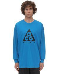 Nike - Acg長袖tシャツ - Lyst