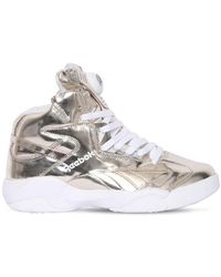"Reebok Metallische Sneakers ""shaq Attaq"" - Mettallic"