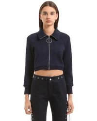 Angel Chen - Mid-length Sleeve Knit Sweatshirt - Lyst