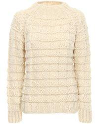 Gudrun & Gudrun Amor Wool Knit Sweater - White